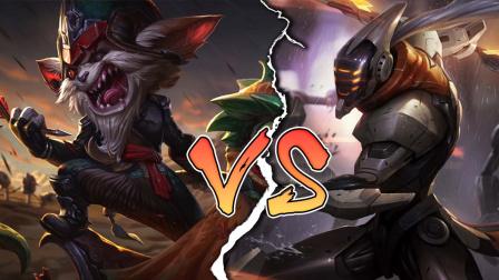 LOL:神装剑圣vs神装克烈,哪个英雄更强?