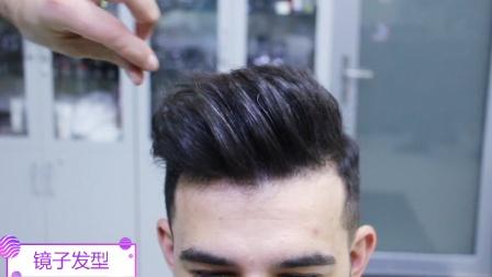 30岁男子去剪发,剪完吹个造型,立马变男神,帅到你了吗