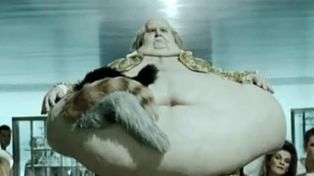 人体雕像:大胃王瘫痪十几年,不幸被猫给咬,还让儿子做成雕像