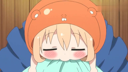 干物妹小埋:小埋睡着的样子太可爱了,切绘被萌的不要不要的