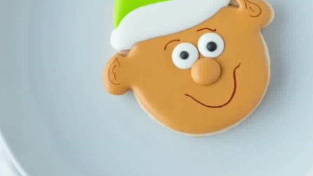 圣诞节最受欢迎的甜品, 可爱的糖霜饼干