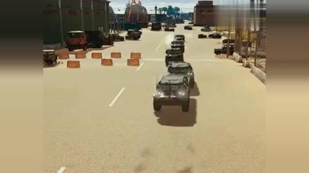 绝地求生:猎豹突击队,在训练场收到战斗警报,看看他们有多厉害