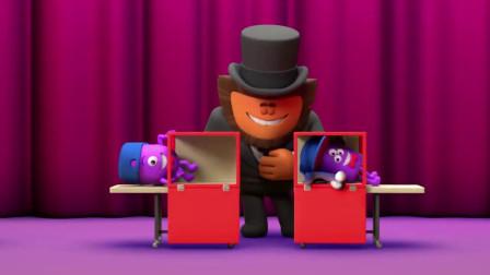 黑色幽默动画,熊孩子上台揭秘魔术师表演,不料却获得了评委爆灯