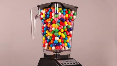 20000颗小球放进料理机里,接下来发生的画面,看完浑身酸爽