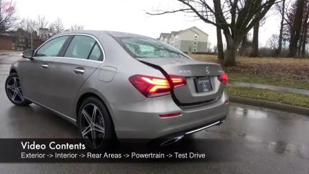 老外试驾2019款奔驰A级轿车, 带给您不一样的驾驶体验!