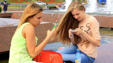 俄罗斯美女来中国,为啥都会很兴奋?尤其是到了晚上