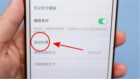 微信绑定了银行卡,切记要关闭这个设置,不然每月就自动扣费了!