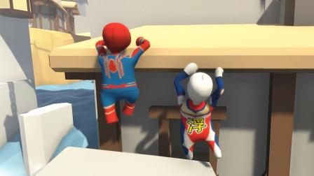 突然好羡慕蜘蛛侠的攀爬能力 奥特曼城堡解谜