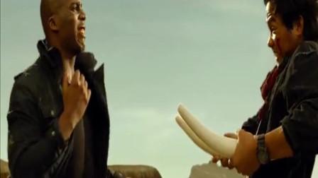 泰国拳王托尼贾大战美国功夫拳手,泰拳真是天下无敌
