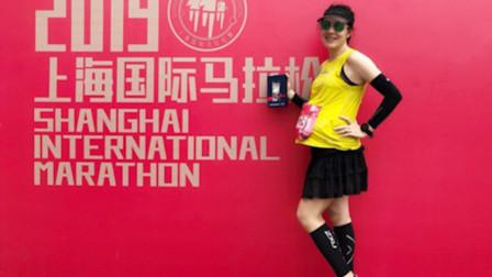 上海40岁孕妇怀胎8月跑完全马 :批评我的人没怀过孕