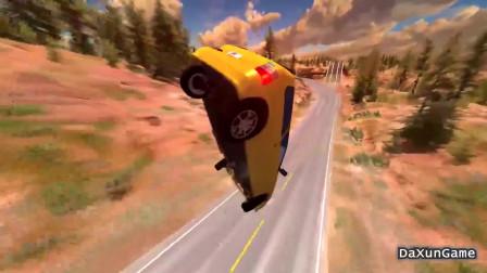 车祸模拟器:刹车失灵的汽车真是可怕,后果不可预料啊!