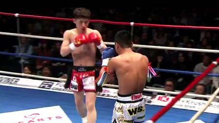 擂台上最狂暴的KO,连环腿爆头,眼神都打直了!