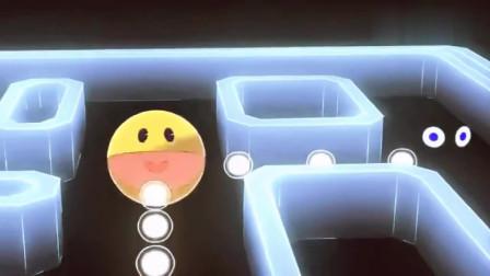 吃豆人游戏动画:吃豆人迷宫吃西瓜等水果
