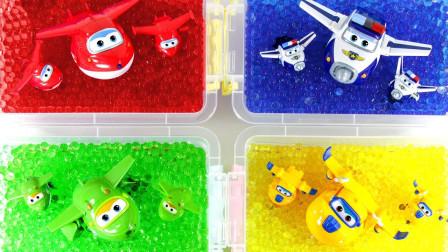 萌宝卡通玩具:海洋球的魔力被超级飞侠发现!一样的乐迪咋回事