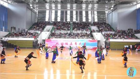 青海交通职业技术学院锅庄舞大赛-《查姆岭》代表队