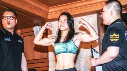 格斗女王张伟丽有多强?铁肘开路怒拼铁拳,一举KO对手获胜