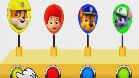 汪汪队狗狗们的大头贴怎么都在气球上呢?汪汪队立大功游戏