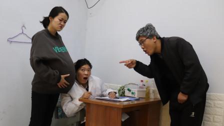 儿媳妇怀孕8个月,总是听到肚子里的宝宝在哭,公公做法让人感动