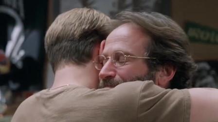 心灵捕手:桑恩真的是威尔最信任的人,威尔的内心打开了,开始接触人