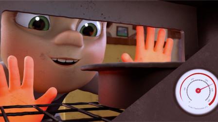 男孩把双手加热到350度,只是为了给爸爸做蛋糕,一部超感人短片