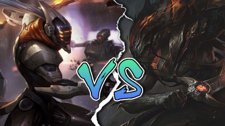 LOL英雄对决:剑圣易VS浪子剑客亚索 你的剑就是我的剑?