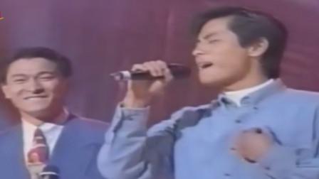 刘德华唱《谁明浪子心》足够完美,但王杰的声音一出还是成了陪衬