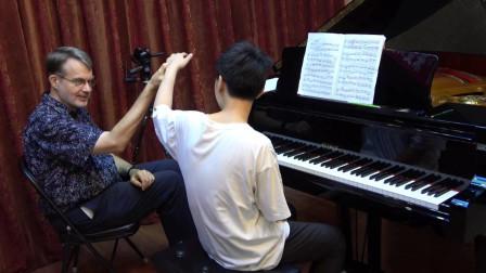 钢琴大师课(49上) 上课曲目《莫斯科夫斯基练习曲Op.72 No.7》