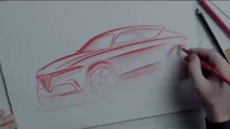 2021阿尔法·罗密欧·托纳尔概念车内饰细节, 你怎么看?