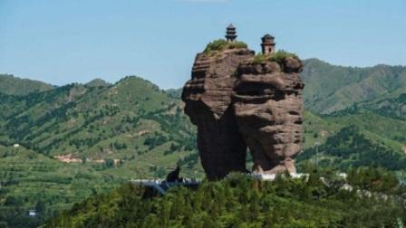 世界未解之谜:河北巨石悬立的神秘寺庙,无法攀爬,它如何建成的?
