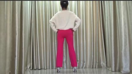洋雪梅广场舞《你是我的人》附背面口令版