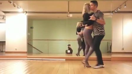 这才是真正的基宗巴舞,比拉丁舞更时尚,跳得好有感觉