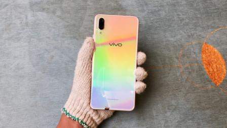 98买了台原价2998的vivo X23,开箱上手的一瞬间:史上最美手机!
