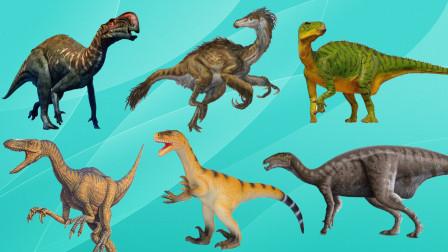 认识盗龙等6大史前巨型动物,乐宝识恐龙