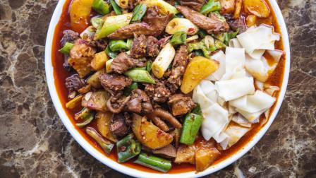 美食台 | 新疆原产地探秘大盘鸡的魔力!