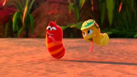 爆笑虫子-人人都是成双成对,就大黄是孤家寡人,落泪了!