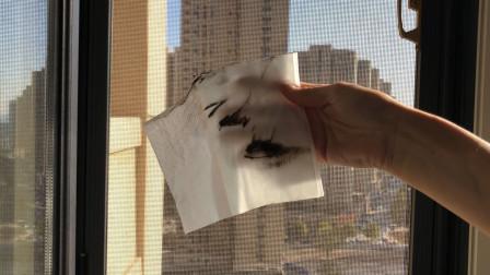 纱窗脏了别用水冲,教你清洗窍门,一点灰尘不留,干净彻底