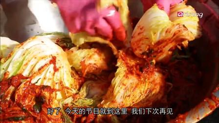 韩国人最爱的美食:泡菜!做泡菜的工厂里太好玩了!你见过吗?