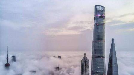 中国第一高上海中心大厦,高632米刮风晃动超1米!里面的人不怕吗
