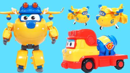 超级飞侠的工地汽车玩具