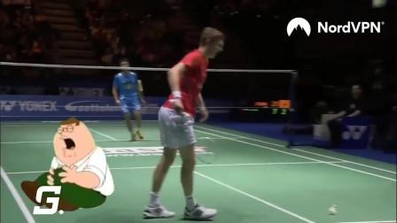 羽毛球比赛失误现场,看到第一个就爆笑不止,看到最后却突然伤感