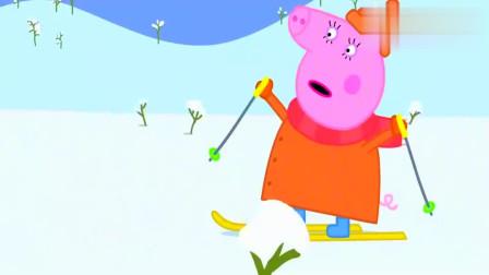 小猪佩奇:猪妈妈太疯狂了,汽车都追不上她,佩奇很得意