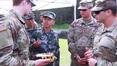 释放强烈信号:中美陆军在夏威夷展开联合演练,相互观摩对方装备