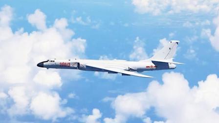 首次公开!轰-6K飞行员中英文喊话驱离外机:不要干扰中国空军!