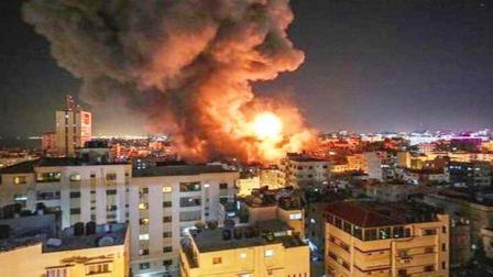 凌晨时分,大马士革15分钟20次爆炸!以色列战机连续射出数枚导弹
