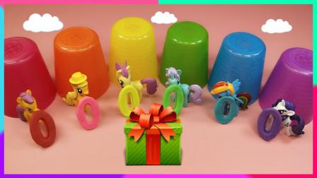 灵犀小乐园之美食小能手 小马宝莉的朋友们的数字彩虹饼干