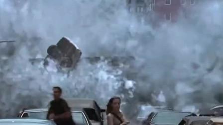 好莱坞最经典最震撼的末日片段,巨大陨石撞击地球,世间生灵涂炭