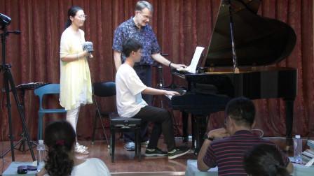 钢琴大师课(49下) 上课曲目《莫斯科夫斯基练习曲Op.72 No.7》