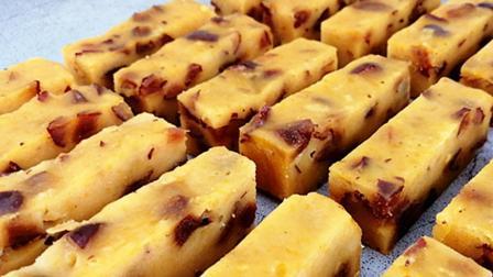 南瓜秘制新吃法,又软又糯又Q弹,比蛋糕还好吃,做法特简单