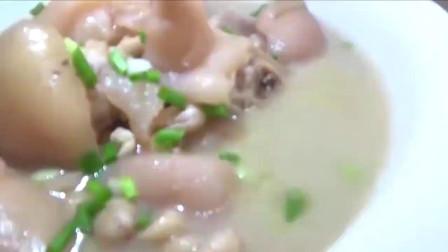 厨师长教你花生炖猪手的正确做法,太香了,营养美味又解馋