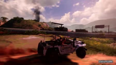 神秘领域4:几枪打爆一辆车,也只有游戏中可以做到了